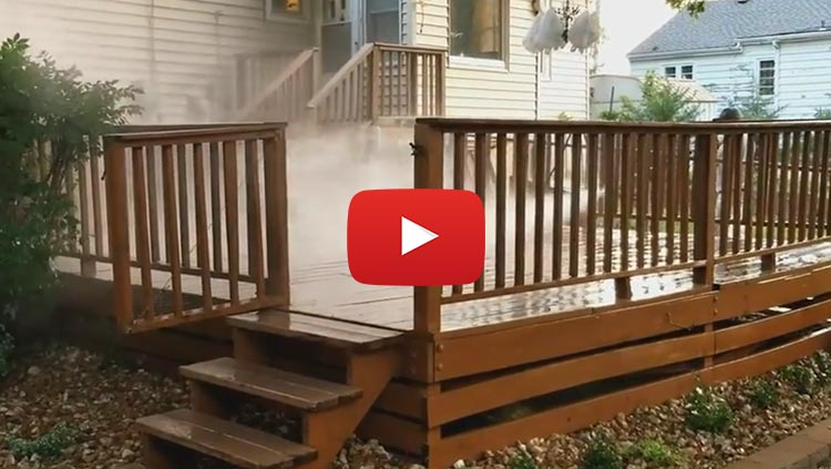 Deck Staining - Power washing - H M Precision Painting -Deck Staining in Kansas City